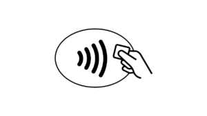 icon of contactless payment